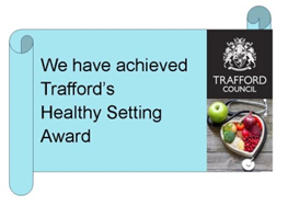 Trafford Healthy Setting Award
